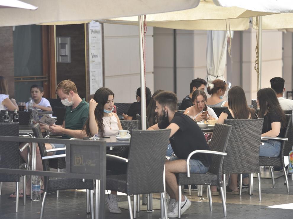 """Las """"no fiestas"""" de San Lorenzo afrontan los almuerzos más atípicos"""