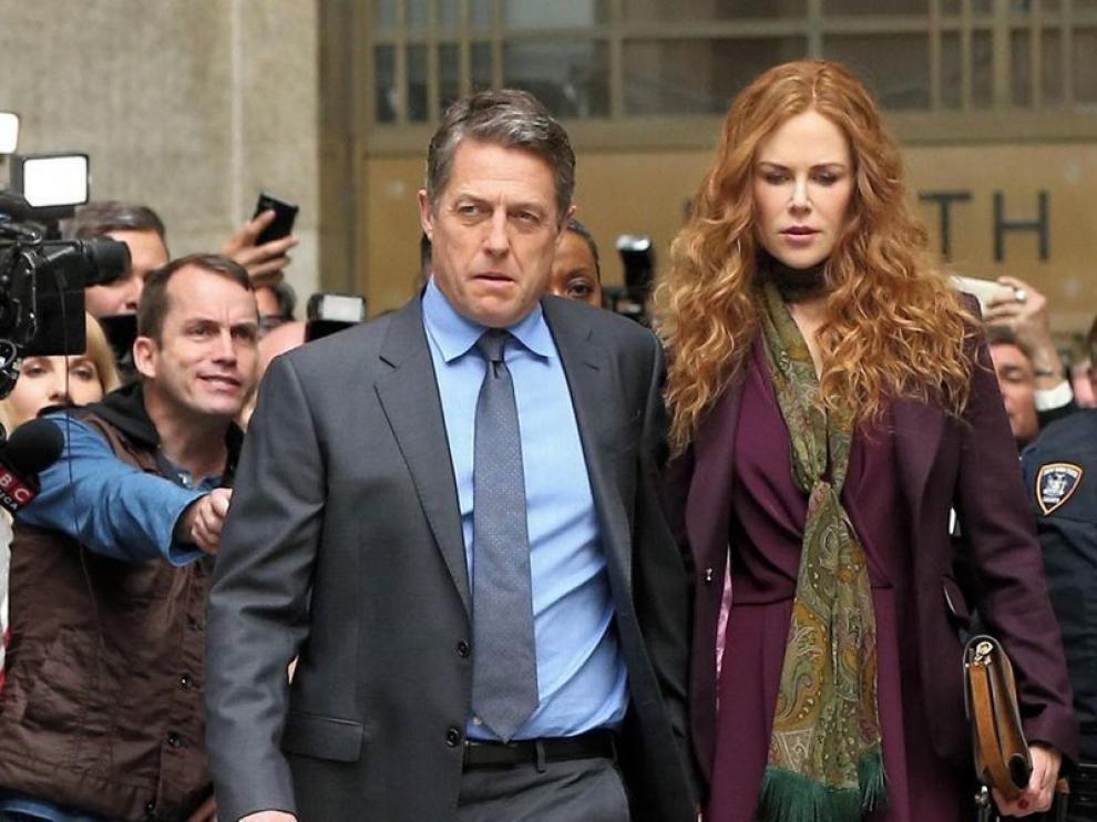 "Nicole Kidman y Hugh Grant protagonizan ""The Undoing"""