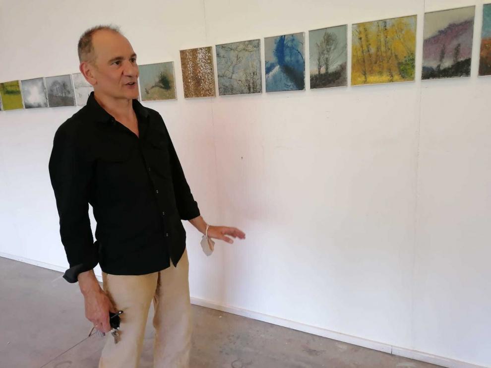 Santiago Arranz se arraiga en Castejón de Sos con un proyecto que abraza cultura y naturaleza