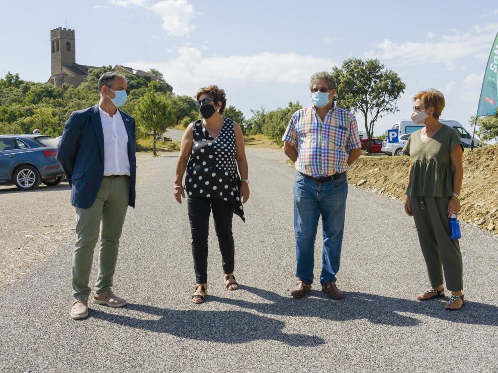 La DPH impulsa una notable mejora del acceso al conjunto histórico de Muro de Roda