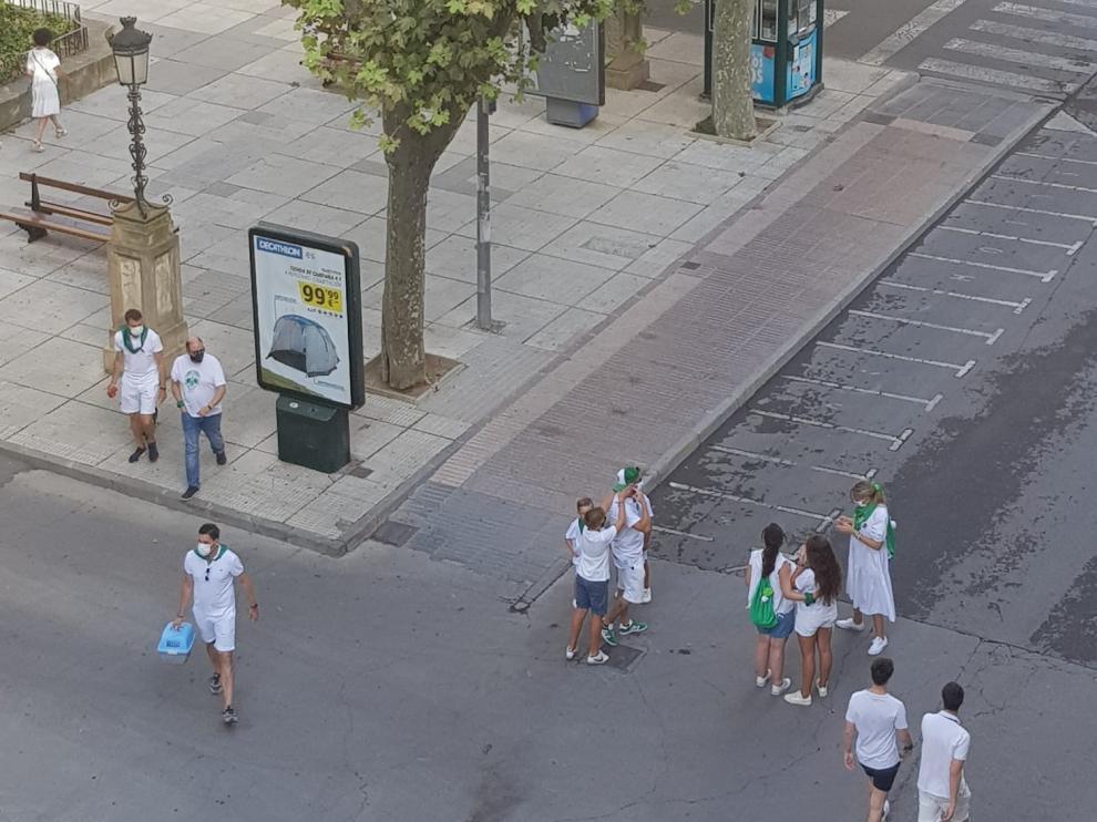 El Ayuntamiento agradece a los oscenses su comportamiento y responsabilidad durante la mañana del 9 de agosto