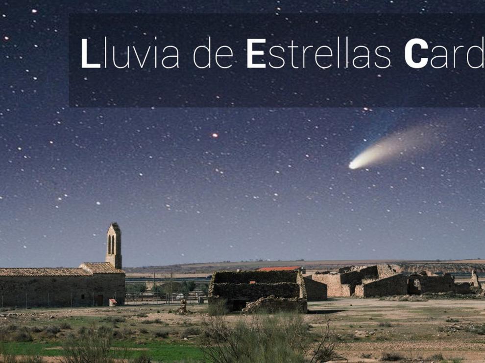 """""""Lluvia de estrellas"""" en Cardiel el próximo 14 de agosto"""