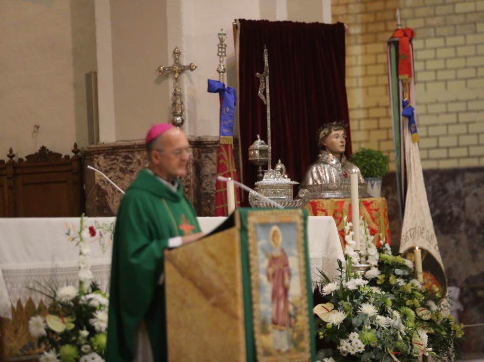 Continúan este lunes los actos religiosos, con la celebración de la misa pontifical
