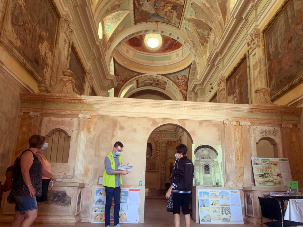 La Cartuja de las Fuentes, de ruina poética a grandeza arquitectónica y pictórica