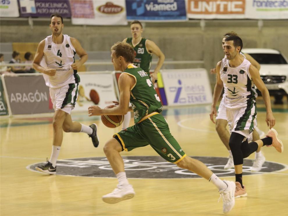 Luis Parejo, veteranía y tiro para Levitec Huesca