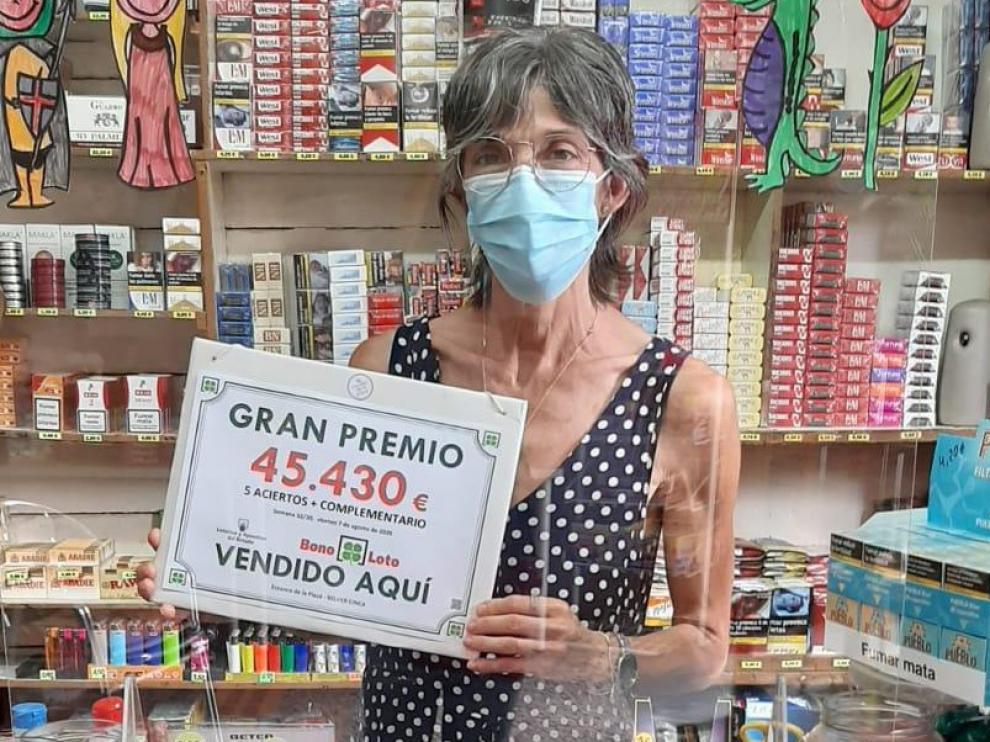 Sellan una bonoloto en Belver de Cinca con un premio de 45.430 euros
