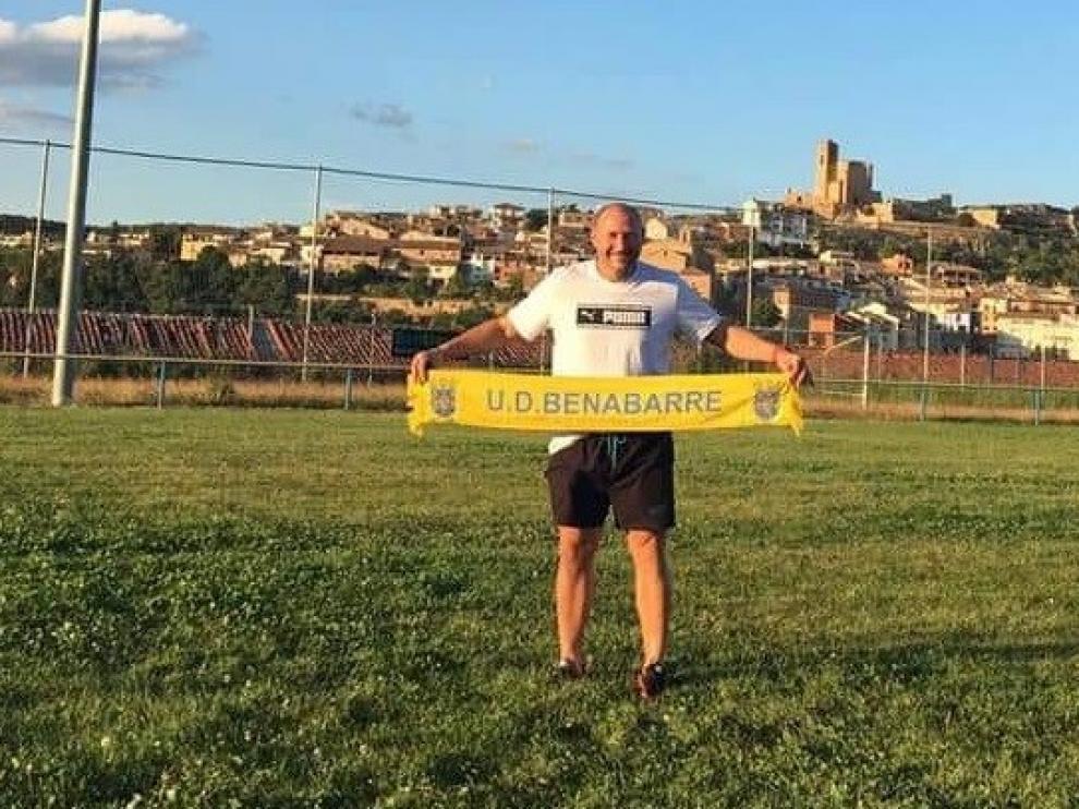 Fallece el entrenador de la Unión Deportiva Benabarre, León Doboaca