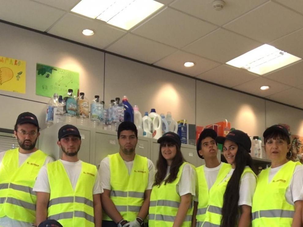 Los doce alumnos de la escuela taller Alma Commerce concluyen su formación