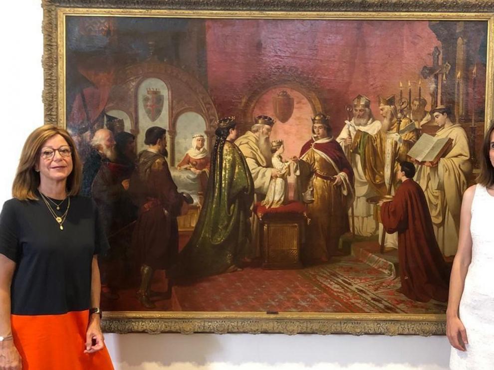 El Museo de Barbastro exhibe los esponsales de Petronila