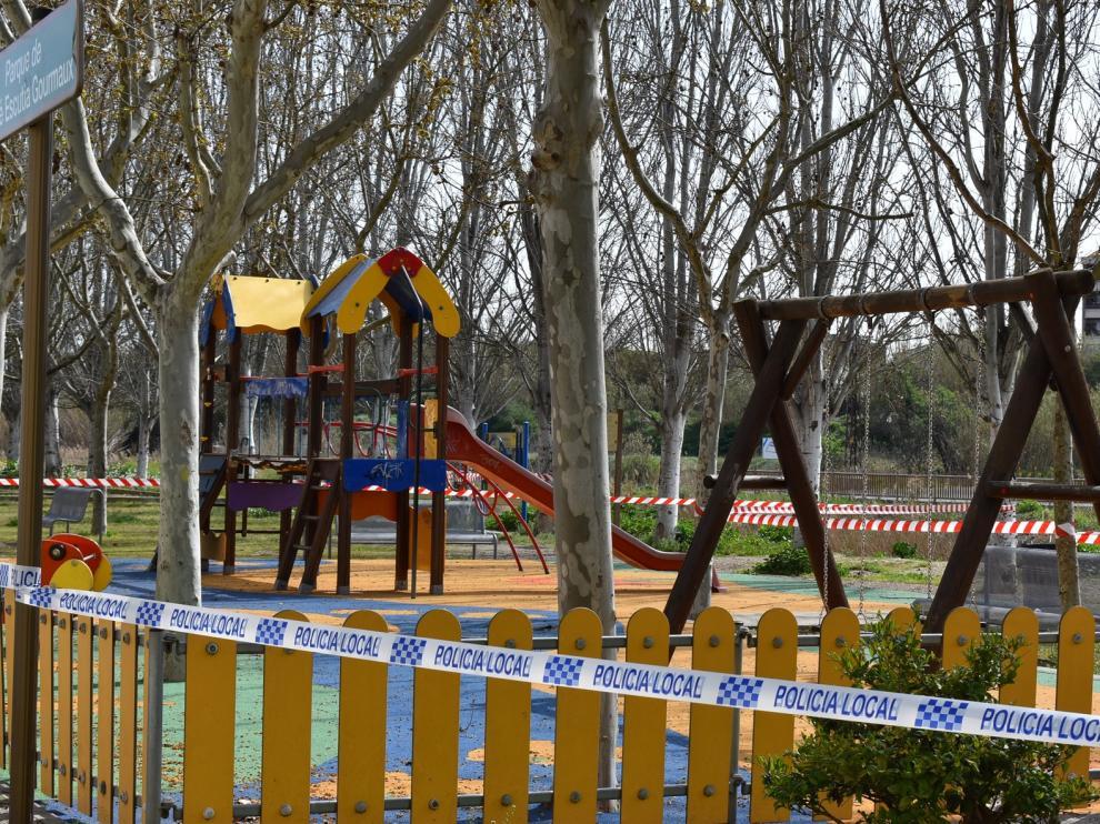El Ayuntamiento de Monzón reabre este jueves los parques y las zonas de juego infantiles