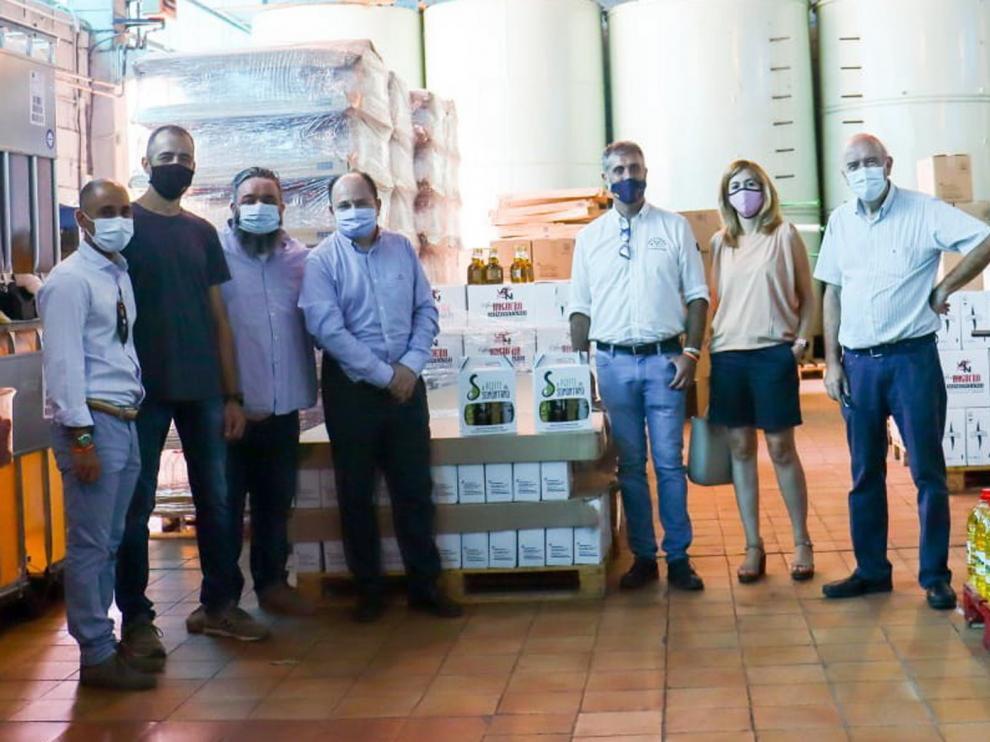 Ciudadanos pide al Gobierno regional que apoye la D. O. Aceite del Somontano
