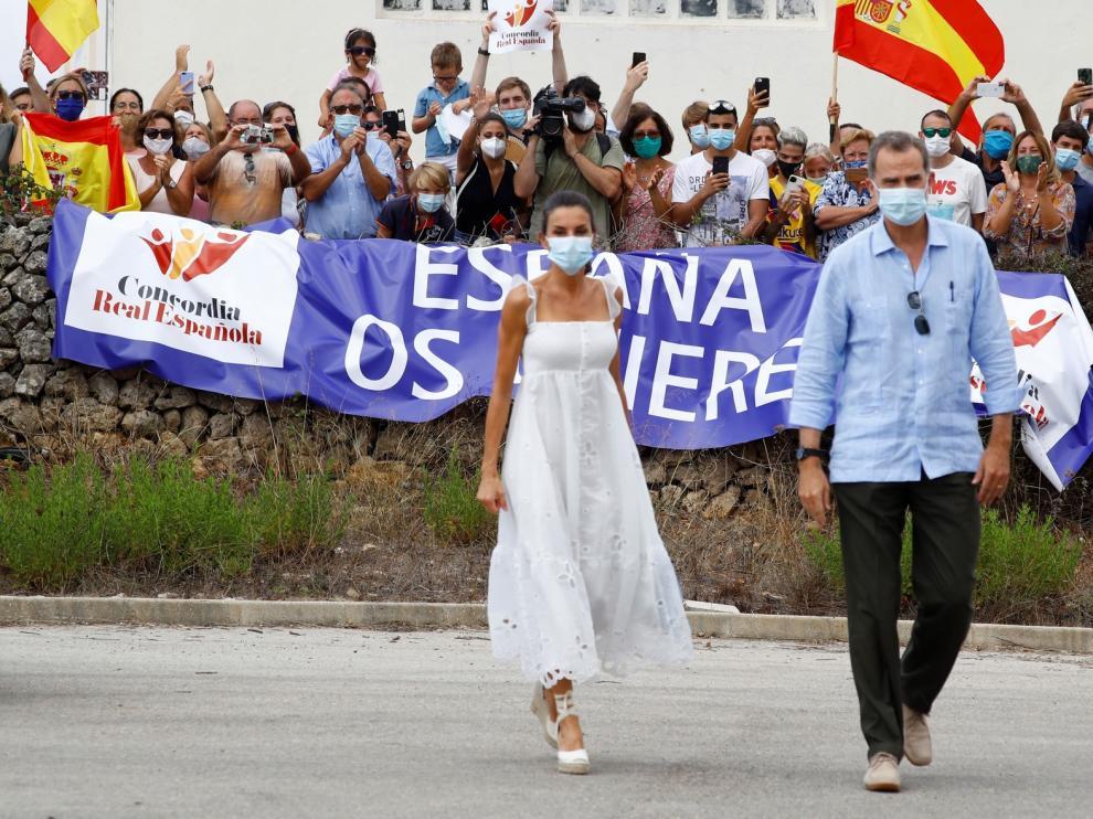 Los Reyes de España presiden el 125º aniversario de Heraldo de Aragón