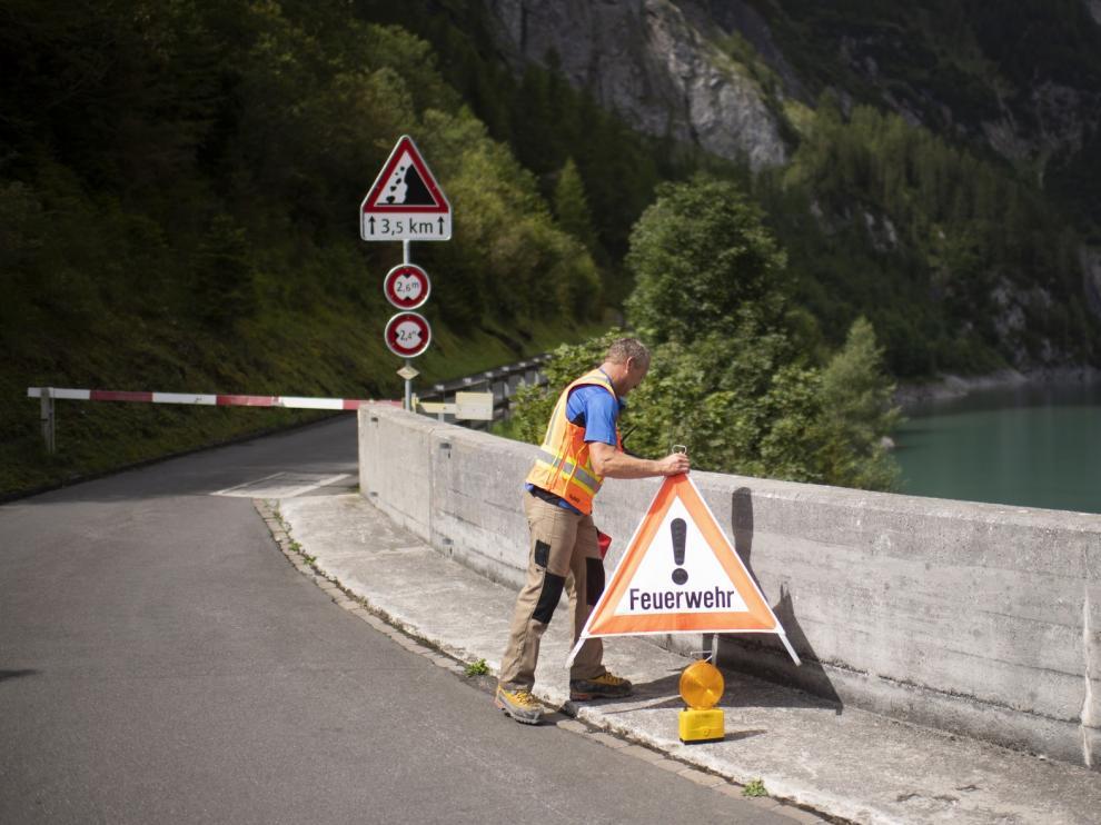 Tres barranquistas navarros muertos y uno vasco desaparecido en Suiza
