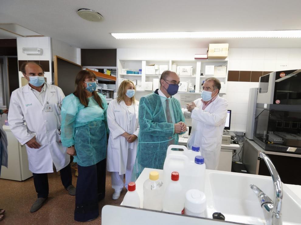 Aragón sigue reforzando su capacidad diagnóstica de COVID-19 con la posibilidad de hacer hasta 5.000 PCR diarias