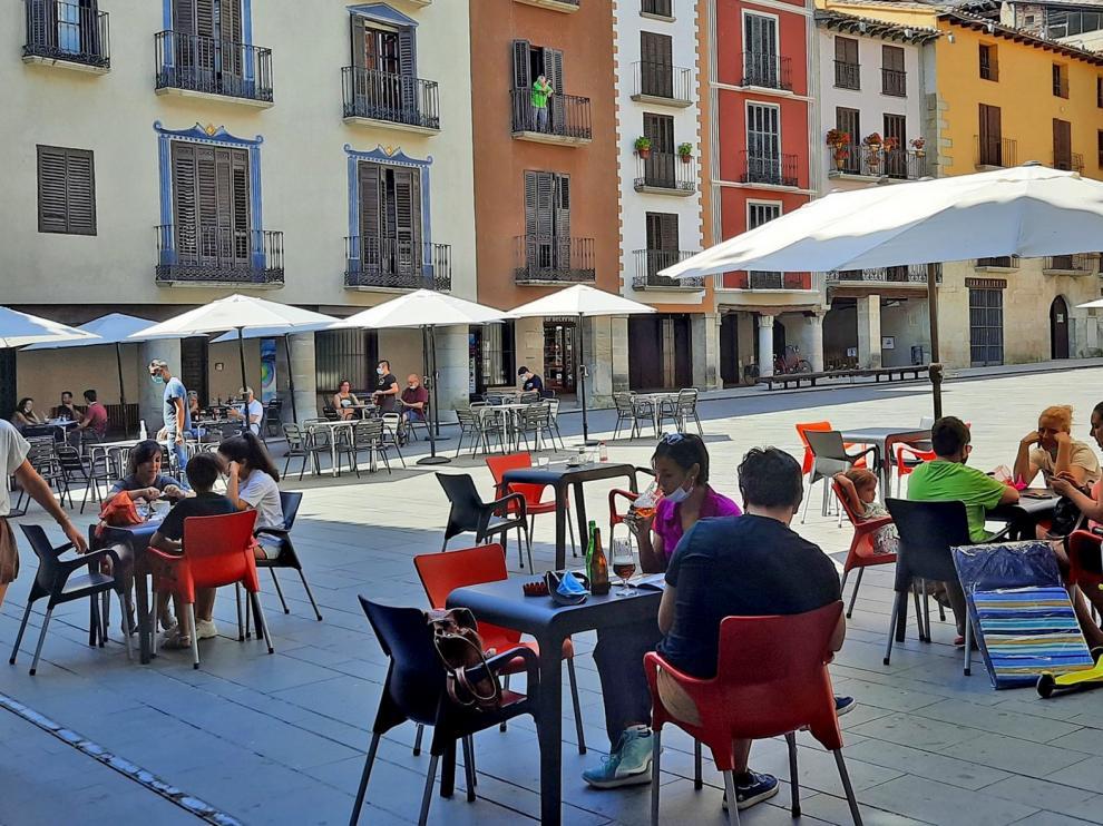 Agosto trae más turistas a Huesca, que prevé un animado fin de semana