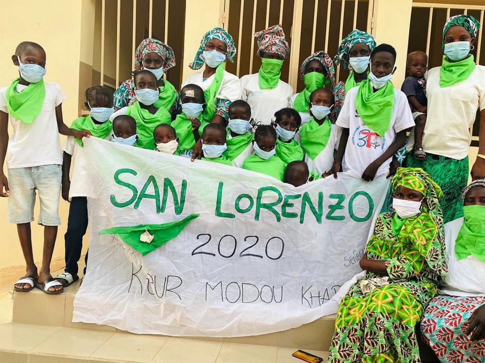 Keur Modou Khary, en Senegal, felicita San Lorenzo