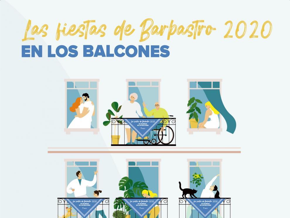 """Promueven unas """"fiestas de Barbastro en los balcones"""""""