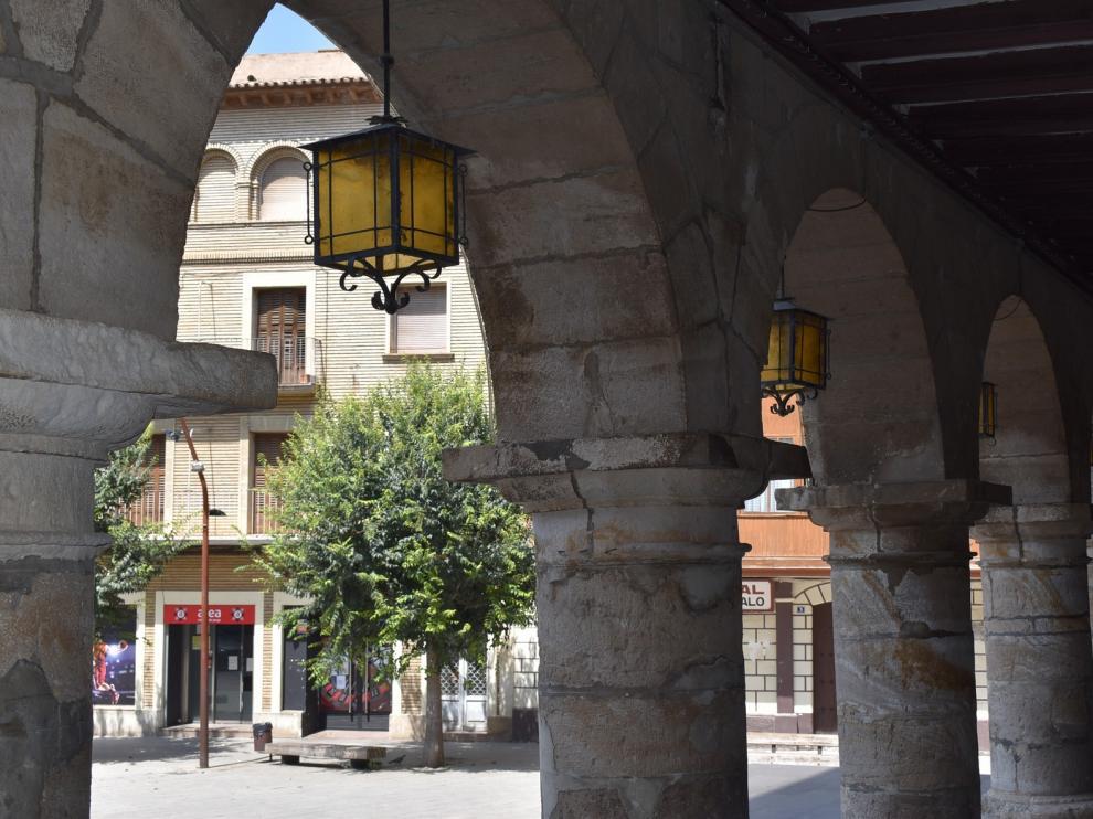 Monzón invierte 18.000 euros en la mejora de la iluminación del casco antiguo