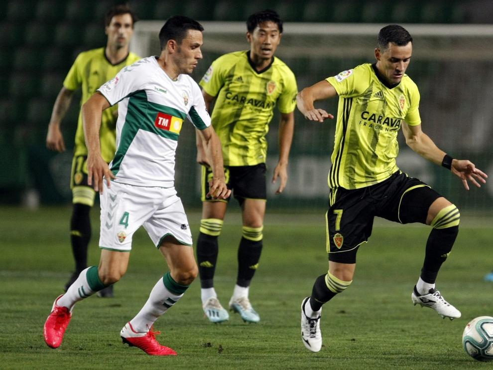 Elche y Zaragoza lo dejan todo para la vuelta (0-0)