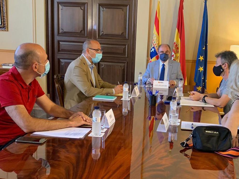 El Gobierno de Aragón ultima con la comunidad educativa el inicio del curso escolar