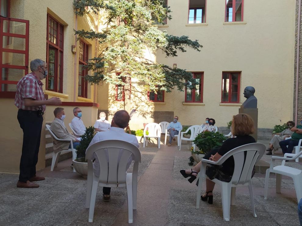 Homenaje a Domingo Miral en los cursos de verano de Jaca
