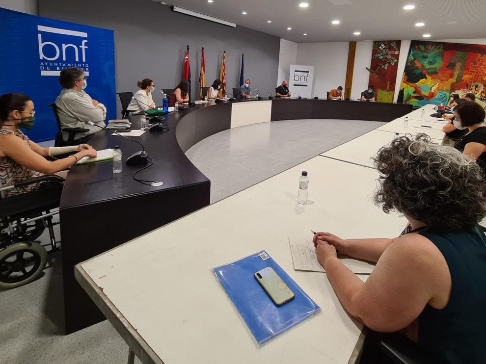 El pleno del Ayuntamiento de Binéfar aprueba por unanimidad la suspensión de las fiestas patronales