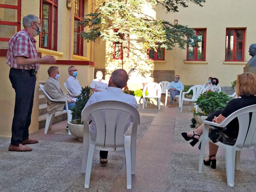 Homenaje a Domingo Miral en los Cursos de Verano de la UZ en Jaca