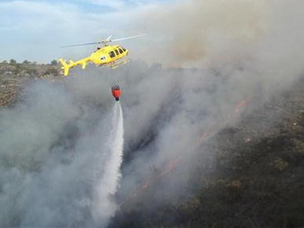 IU pedirá explicaciones por los recortes del operativo antincendios