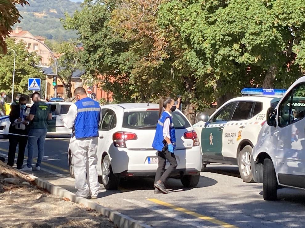 Una mujer muere en Segovia tras ser apuñalada en la vía pública por su expareja