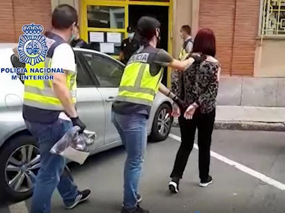 Detenido un matrimonio en Jaca por el asesinato de una mujer en Benidorm