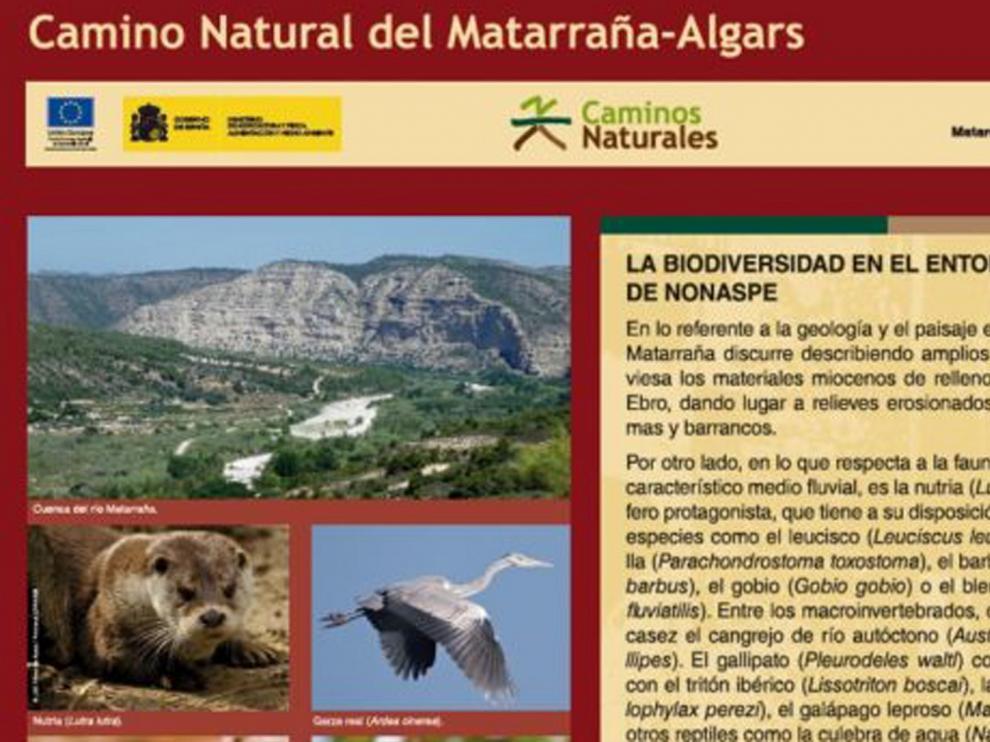 Zaragoza y Teruel suman más kilómetros de Caminos Naturales