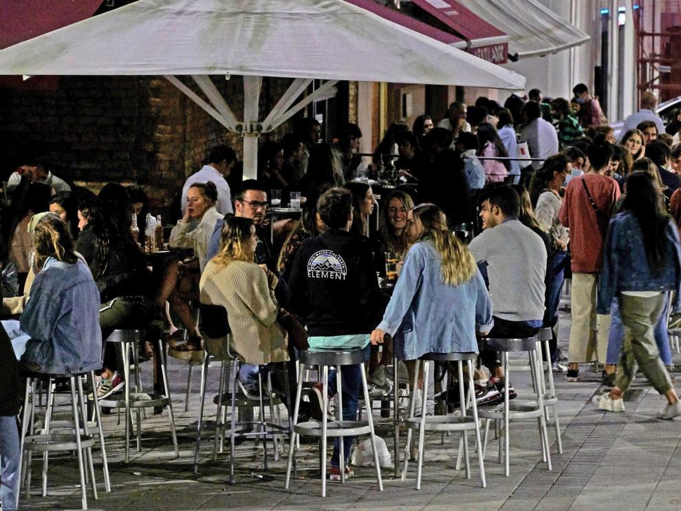 El colectivo SOS Hostelería exige un plan integral de reactivación del sector