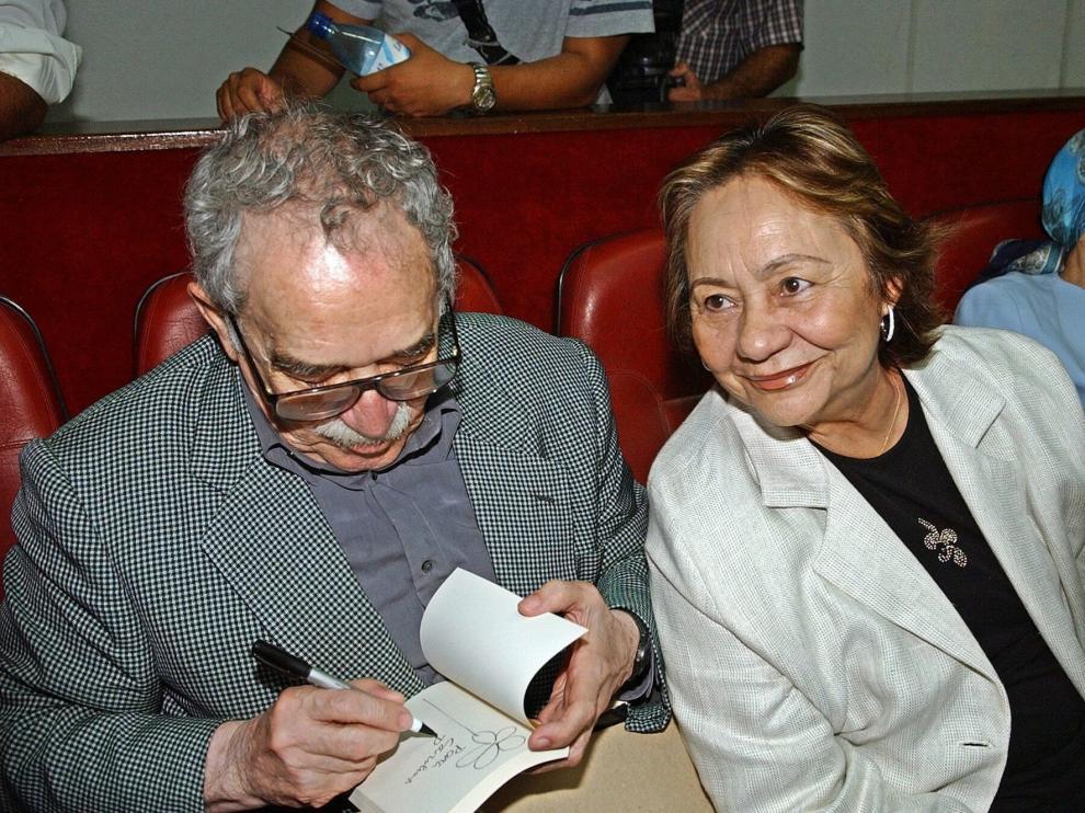 Muere Mercedes Barcha, la mujer esencial en la vida de García Márquez
