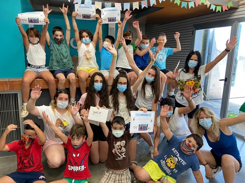 El campus del Espacio Joven de Monzón divierte a 120 chavales durante seis semanas