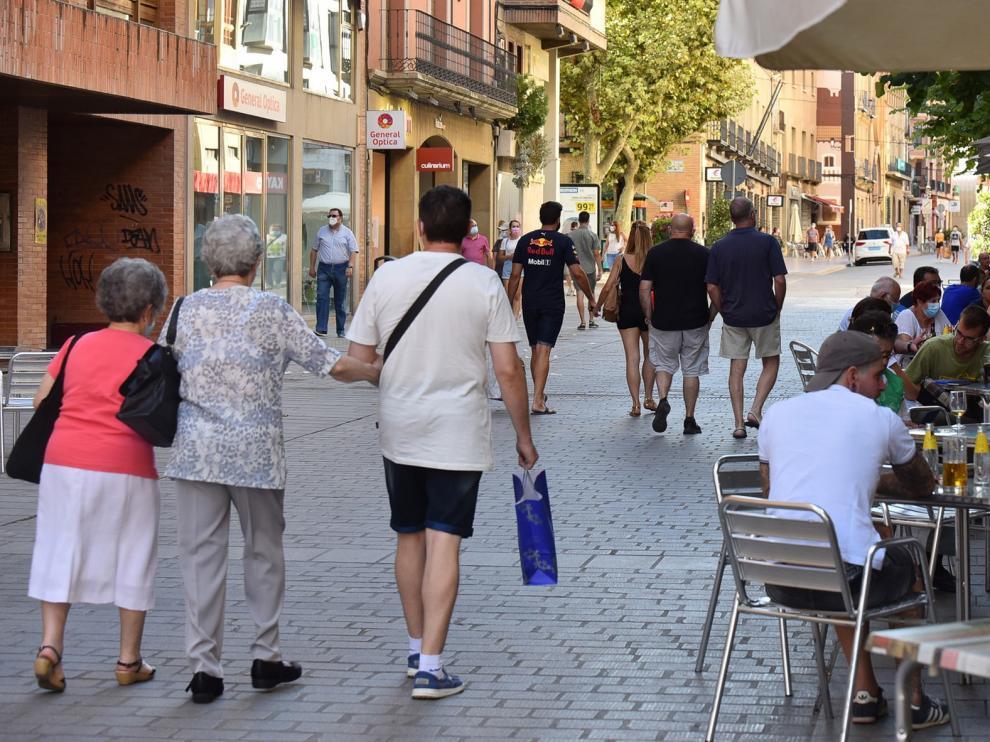 La cifra de contagios en la provincia de Huesca cae pero se eleva la de hospitalizados