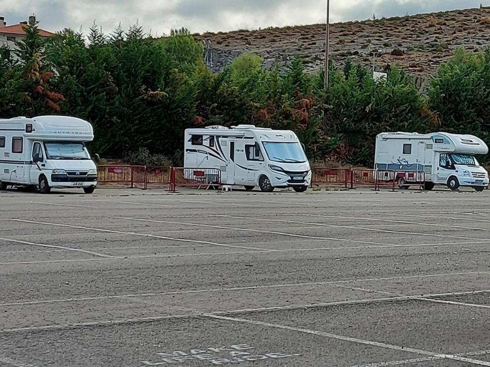 Aumentan los usos del espacio para autocaravanas de Sabiñánigo