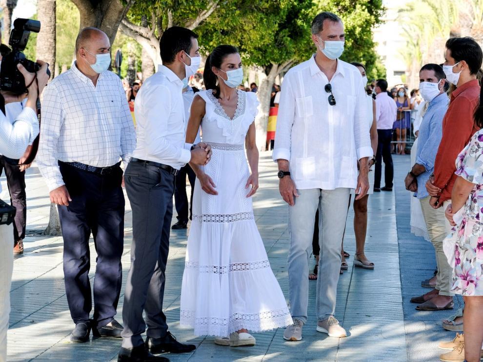 Ibiza ofrece una cálida despedida a los Reyes de Baleares