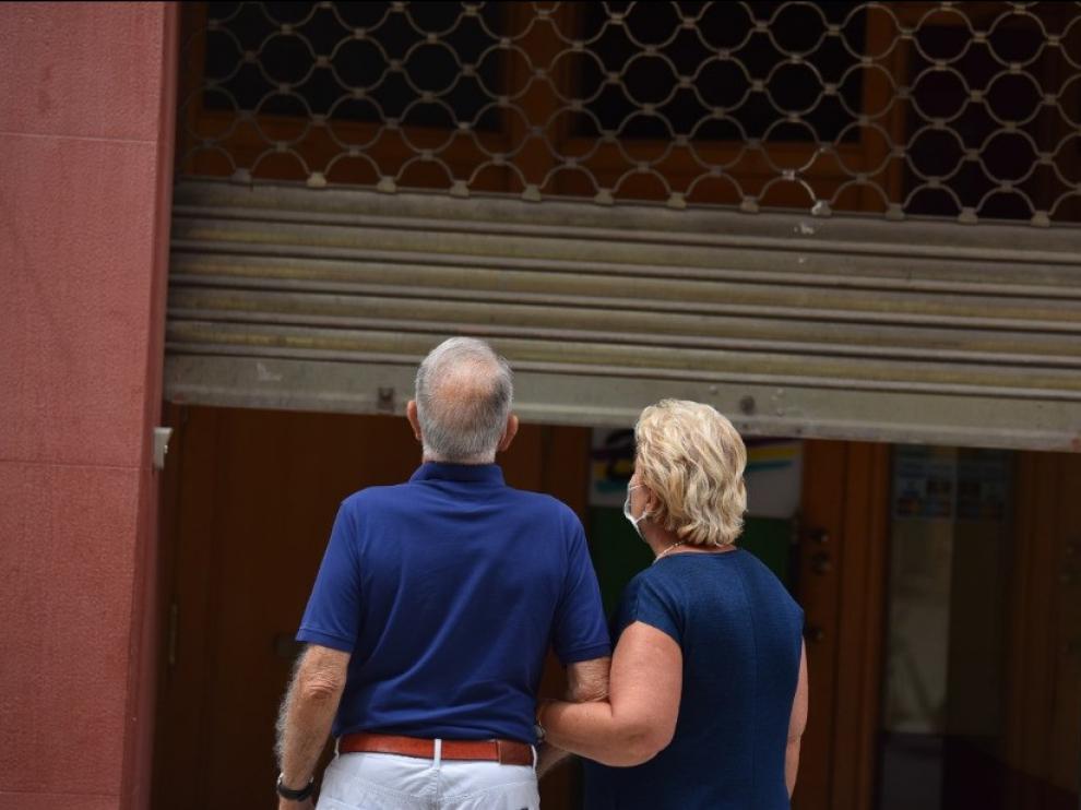 El Coso Bajo de Huesca suma un total de 26 locales vacíos