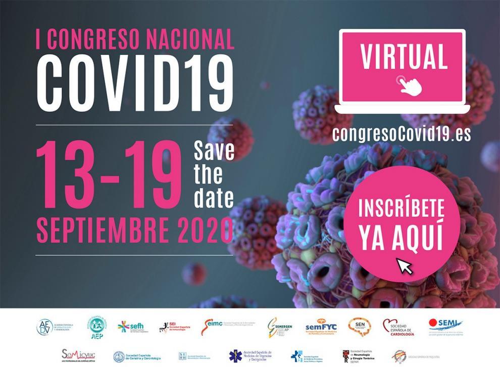 Convocado el mayor congreso sobre covid-19 en España