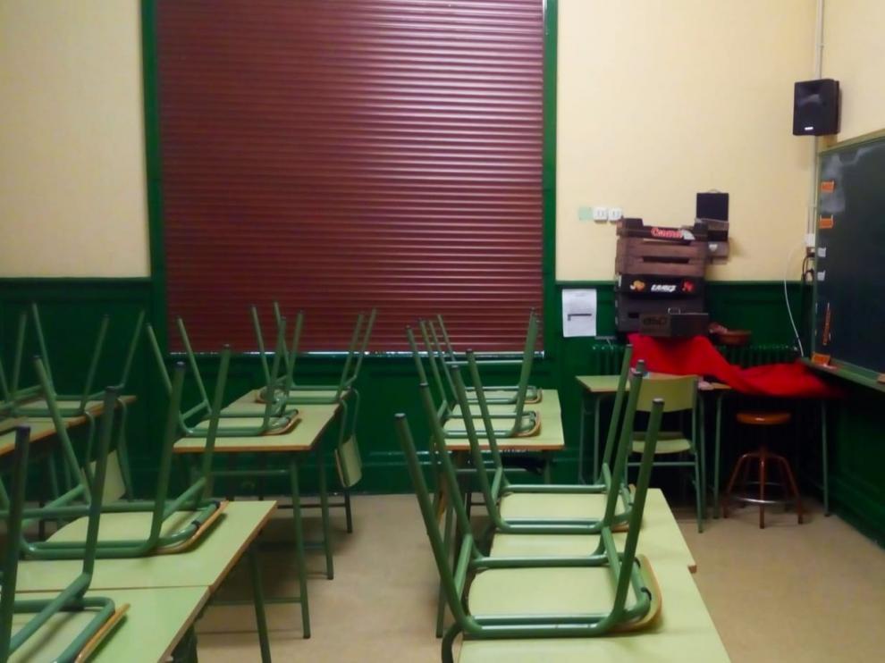 El Ayuntamiento de Huesca desinfectará exteriores y accesos a los colegios
