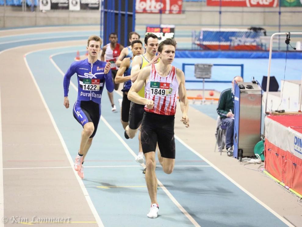 Christian Iguacel logra el título de 400 en Bélgica
