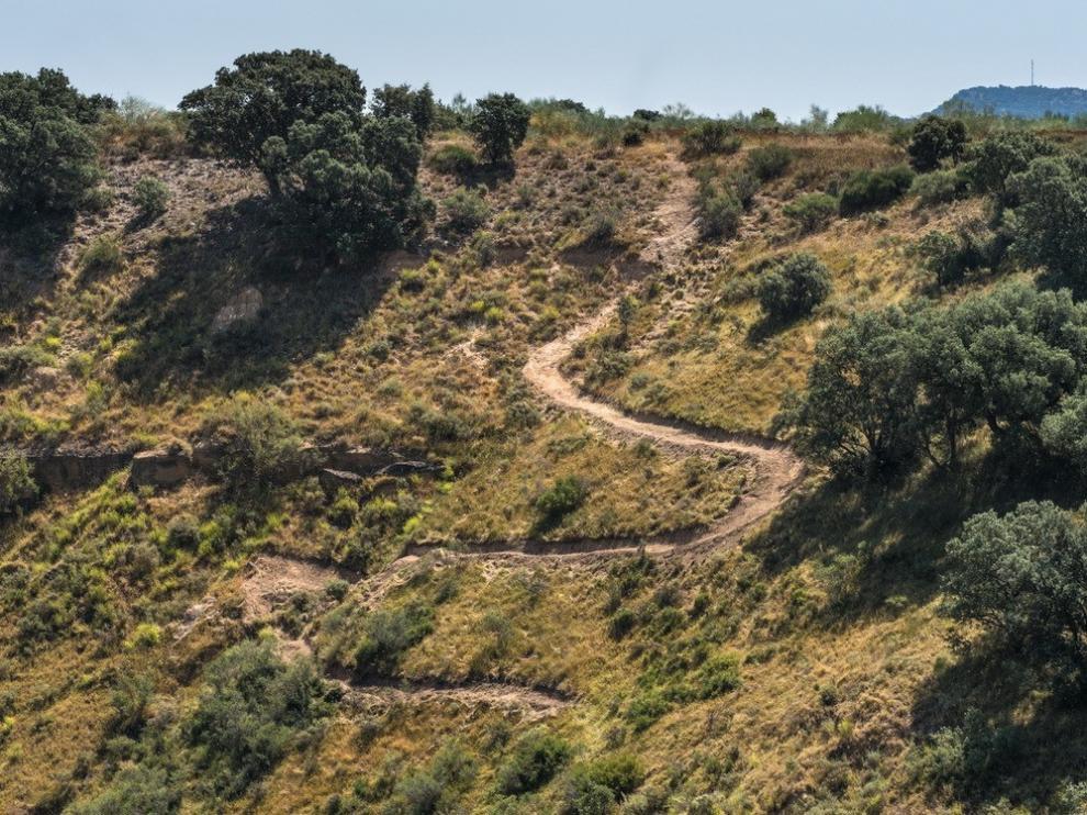 Monzón denuncia la apertura no autorizada de una senda en la zona de las Loberas