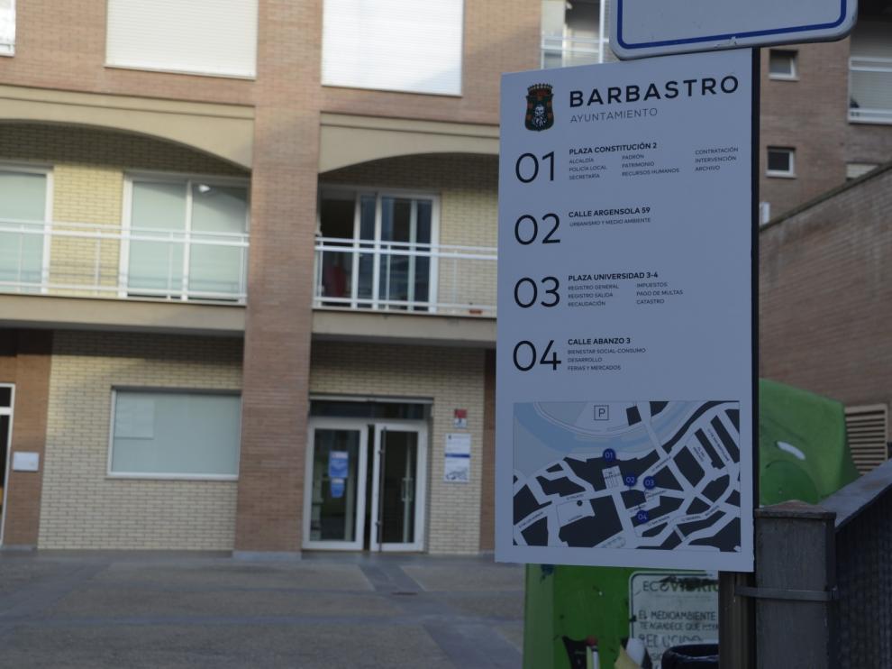 El Ayuntamiento de Barbastro traslada algunos de sus servicios a unas dependencias más amplias y accesibles
