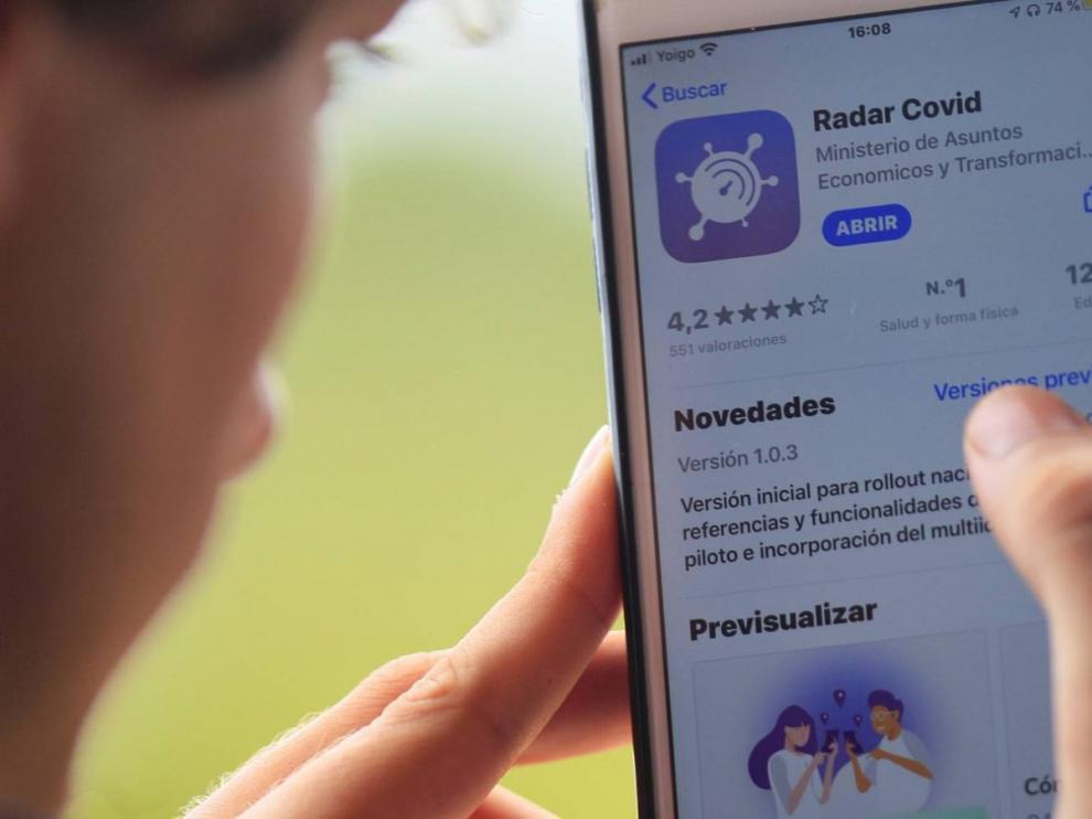 Aragón ya tiene lista la nueva App Radar Covid