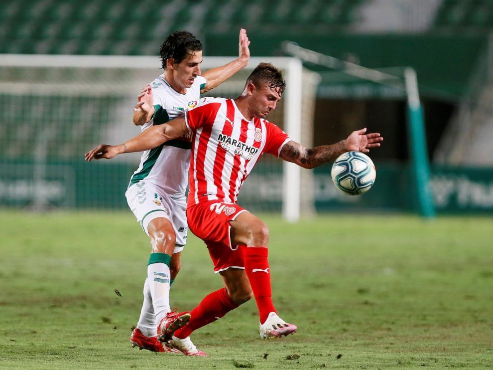Elche y Girona dejan el ascenso para la vuelta (0-0)