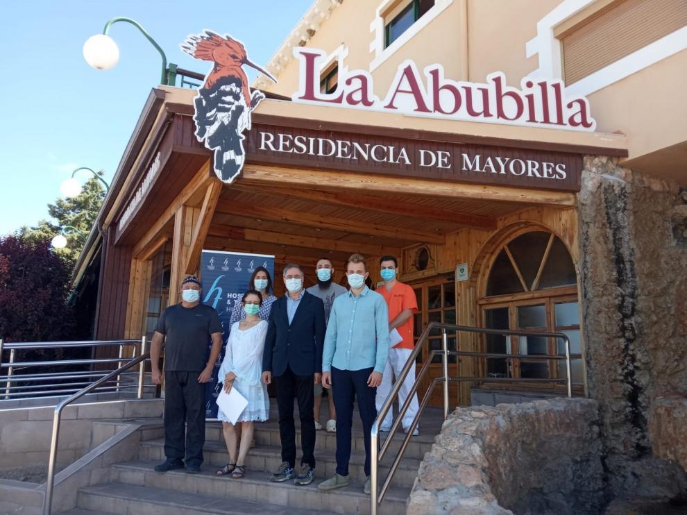 La Asociación Provincial de Hostelería y Turismo de Huesca reconoce el esfuerzo de la Residencia La Abubilla