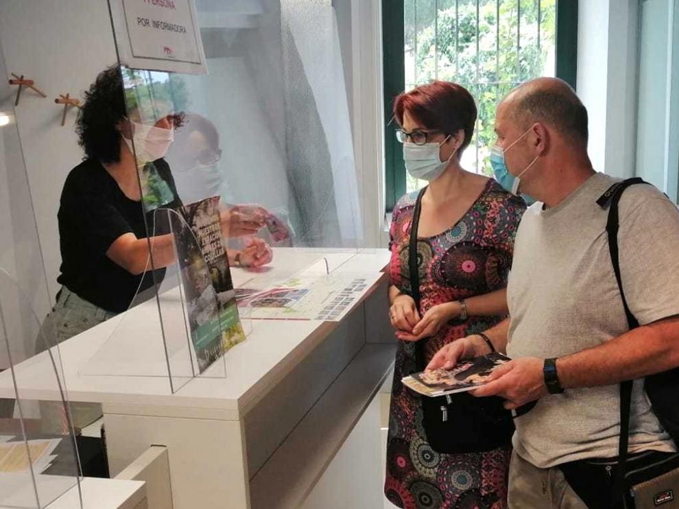 La comarca del Somontano habilita una red wifi en cinco oficinas de turismo