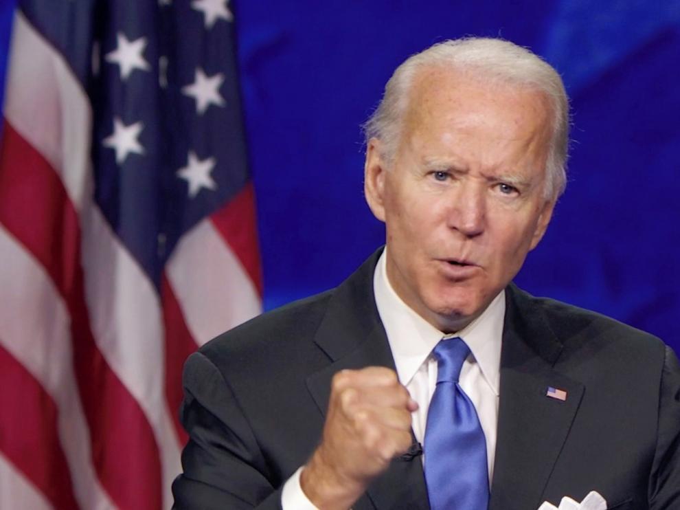 """Joe Biden pide superar """"la época de oscuridad"""" de Trump"""