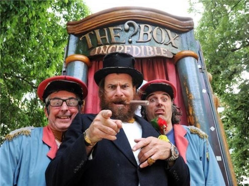 El Teatro de Calle inicia su viaje por la Canal de Berdún