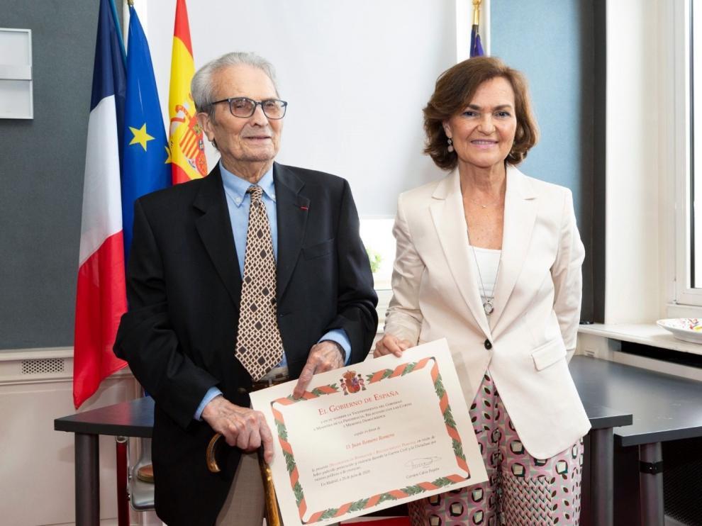 Juan Romero, el último testigo español de la barbarie de Mauthausen